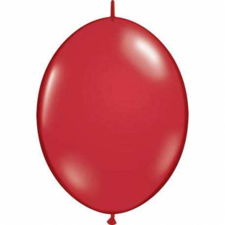Rubinasto rdeči veriga baloni 10/1
