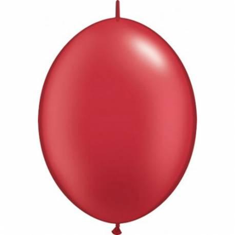 Pearl rdeči veriga baloni 10/1