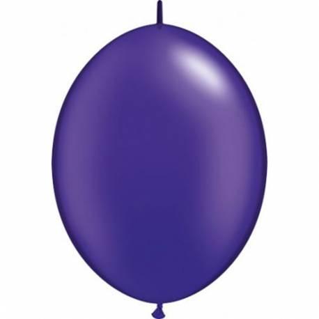 Pearl vijolični veriga baloni 10/1