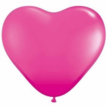 Srce baloni 15 cm, wild barry 10/1