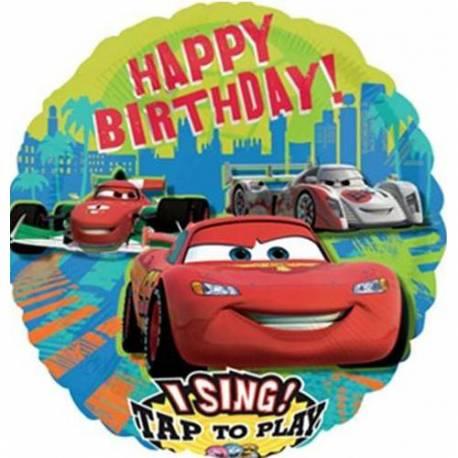 Pojoči folija balon Cars
