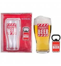 Kozarec za pivo z odpiračem