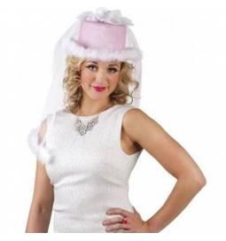 Nevestin roza klobuček