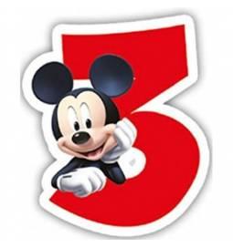 Svečka Mickey Mouse 3. rojstni dan