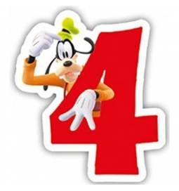 Svečka Mickey Mouse 4. rojstni dan
