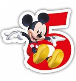 Svečka Mickey Mouse 5. rojstni dan