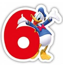 Svečka Mickey Mouse 6. rojstni dan