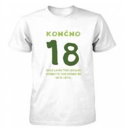 Majica za 18 let, Končno 18