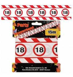 Markirni trak za 18 rojstni dan, Stop znak