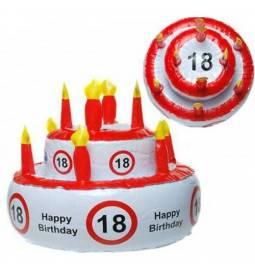 Napihljiva torta za 18 rojstni dan