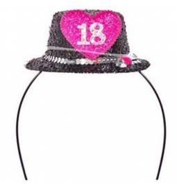 Obroček s klobučkom za 18. let
