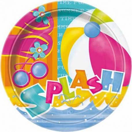 Krožniki 23 cm, Pool Party 8/1