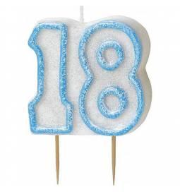 Svečka za 18 rojstni dan, Modra