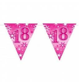 Zastavice za 18. rojstni dan, Pink