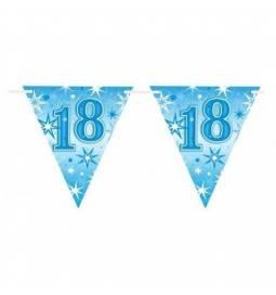 Zastavice za 18. rojstni dan, Blue