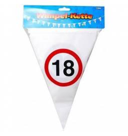 Zastavice za 18. rojstni dan, Stop znak