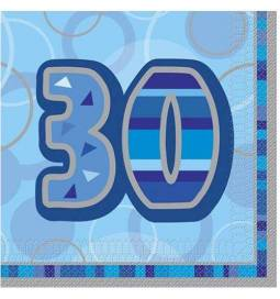 Modri prtički za 30. rojstni dan
