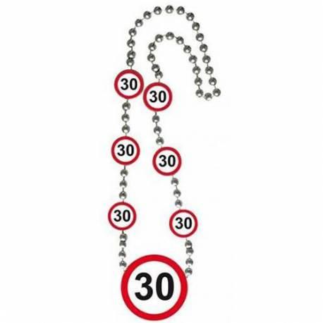 Ogrlica za 30. rojstni dan, Stop znak