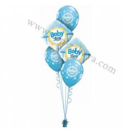 Dekoracija iz balonov Baby Boy