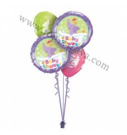 Dekoracija iz balonov Baby Shower