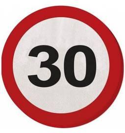 Prtički za 30. rojstni dan, Stop znak