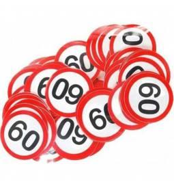 Konfeti za 60 rojstni dan, Stop znak