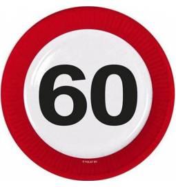 Krožniki za 60. rojstni dan, Stop znak