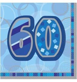 Modri prtički za 60. rojstni dan