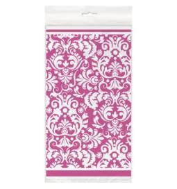 Prt Ornament Damask Pink