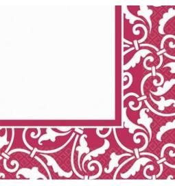 Serviete 33x33 cm, Ornament Modre 16/1