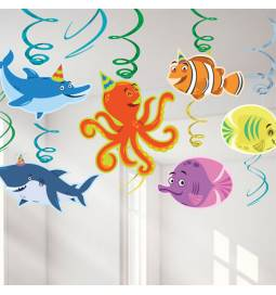 Viseča dekoracija Junaki oceana