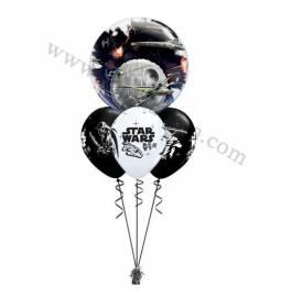 Dekoracija iz balonov Star Wars