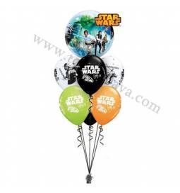 Dekoracija iz balonov Star Wars 1