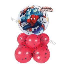 Dekoracija iz balonov Spiderman 1