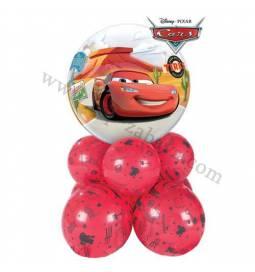 Dekoracija iz balonov Cars