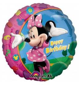 Folija balon Minnie Happy Birthday