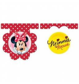 Girlanda Minnie Mouse, rdeča