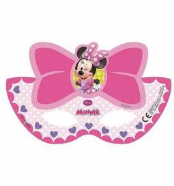 Maske Minnie Miška Pink