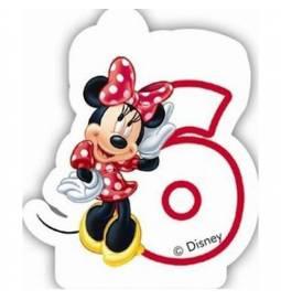 Svečka za 6. rojstni dan, Minnie Mouse