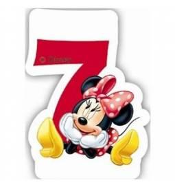 Svečka za 7. rojstni dan, Minnie Mouse