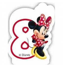 Svečka za 8. rojstni dan, Minnie Mouse