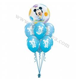 Dekoracija iz balonov Baby Miki