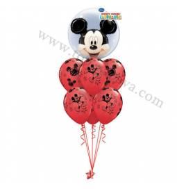 Dekoracija iz balonov Mickey