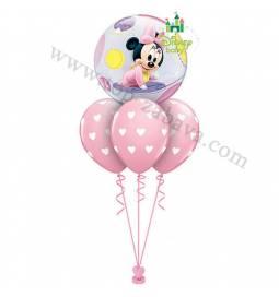 Dekoracija iz balonov Baby Miki 1st Birthday
