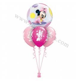 Dekoracija iz balonov Baby Minnie