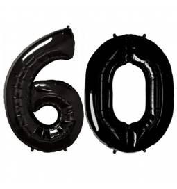 XXL balona številka 60, črna