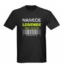 Majica za rojstni dan, Legende, Avgust