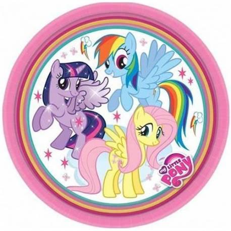 Krožniki My Little Pony 23 cm, 8/1