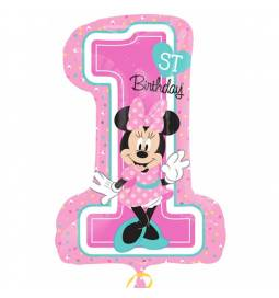 Folija balon Minnie 1st birthday