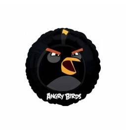 Folija balon Angry Birds, črn